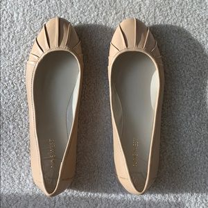 New Nine West Blustery Light Natural size 8